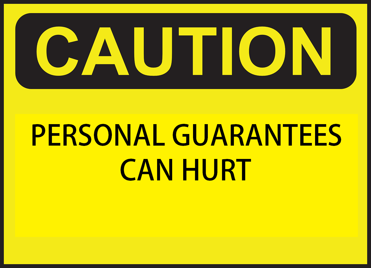Business Personal Guarantee submited images