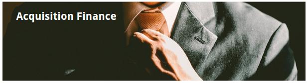 acquisition loan finance