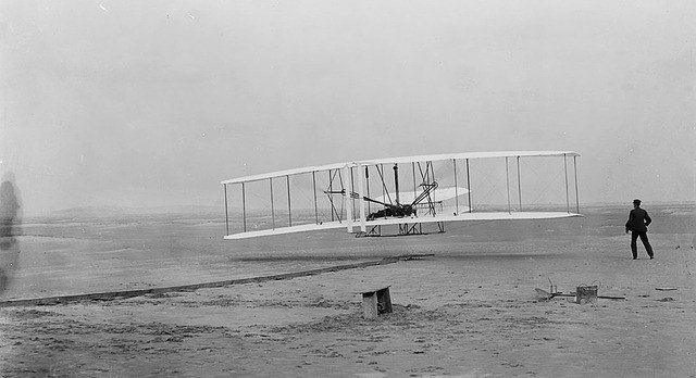 wright brothers powered flight