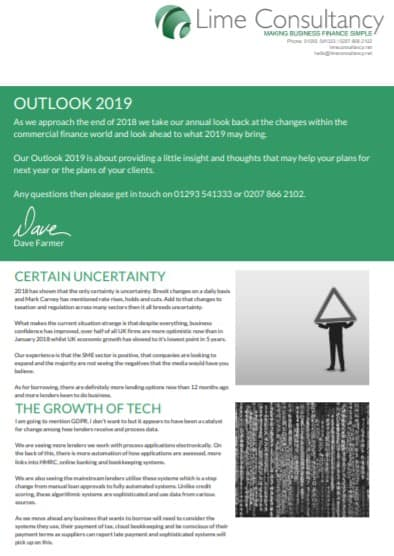 Outlook 2019 Cover