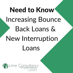 increasing bounce back loans interruption loan info