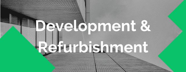development & refurbishment lending