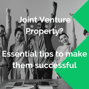 joint venture property tips