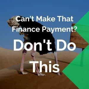 Ostrich debt management avoid defaulting