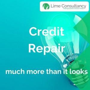 credit repair lightbulb