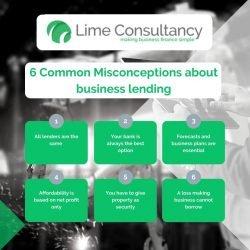 business lending misconceptions